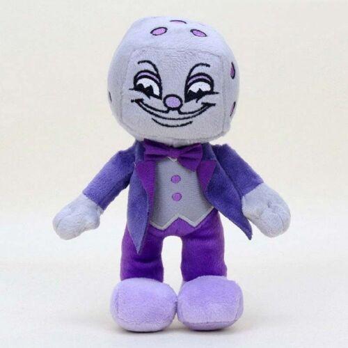 Cuphead /& Mugman Ghost Chalice Devil Boss Demon King Dice Plush Figure Doll Toys