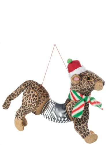SOLD OUT!! SLINKY CHRISTMAS ORNAMENTS SPRINGER SAFARI COLLECTION 12 PC SET