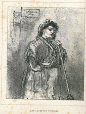 "Gavarni, Paul - ""les lorettes vieillies"" de ""Masques et rostros"" mostrarían 1853"