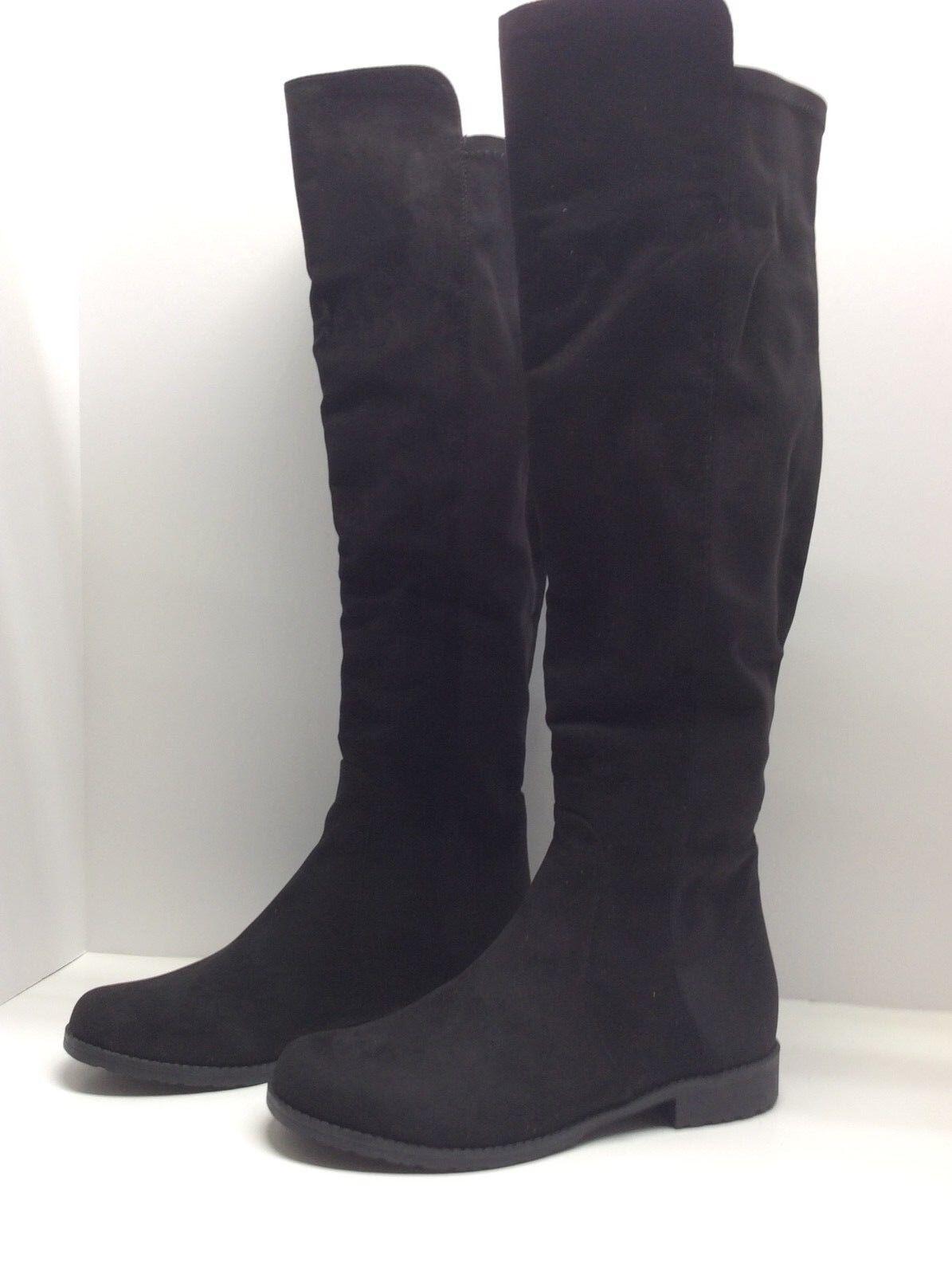 UNISA Gillean     Negro sobre la rodilla botas talla 6.5M  79-2 Stretch  alta calidad