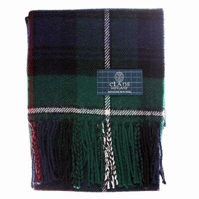 New Long Neck Fashion MacDuff Modern Tartan Scarf Scottish Wool Clan Scarves