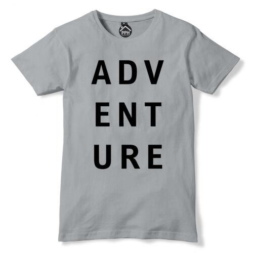 Tshirt aventure mode imprimé motivation Nature Travel Wild T shirt tee pp46