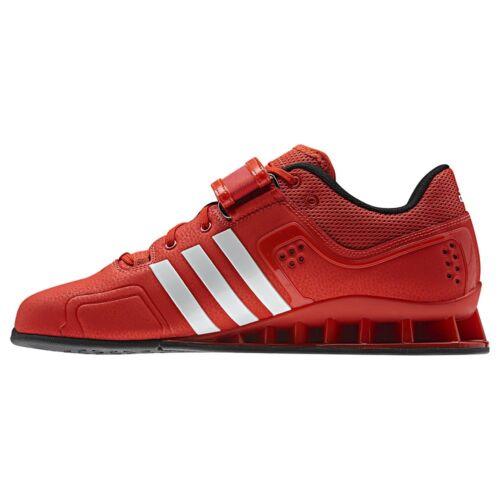 Halterofilia Adidas Rojo V24382 Adipower Blanco Zapatos Hombre PqwC8xwE0