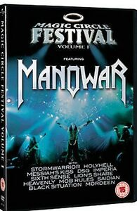 DVD-MAGIA-CIRCLE-FESTIVAL-VOLUME-1-Manowar-NUEVO-Region-2-UK