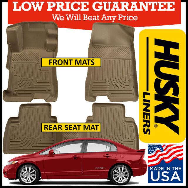 Husky Liners Weatherbeater Cargo Floor Mat fits 2006-2011 Honda Civic 4-Door