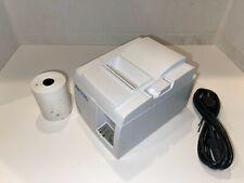 Star Tsp100iii Thermal Pos Receipt Printer Tsp143iiiu Power Cord Usb
