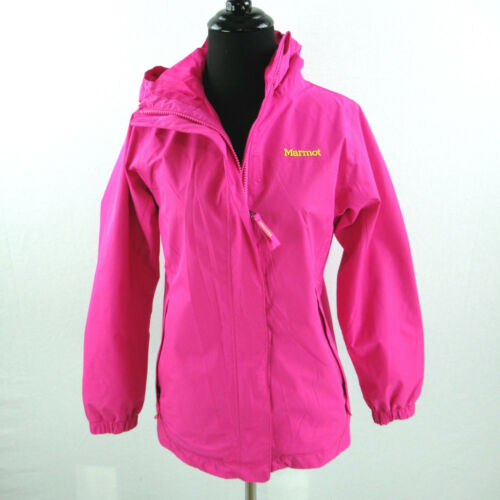 Large Dame Marmot Hooded Outdoor Poly Pink Softshell Jacket Outerwear Hood SwSBWAqRO
