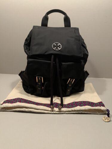 Tory Burch Tilda Black Nylon Backpack