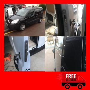 Details about Citroen Berlingo 2008-2018 Rear Van Security Hooklock  Deadlock Kit