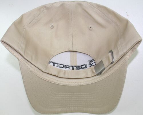 tan detroit diesel semi 18 wheeler trucker base ball cap hat truck cat