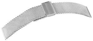 Edelstahl-Meshband-Uhrenband-Silber-18-mm-Faltschliesse-Milanaise-X8100102180