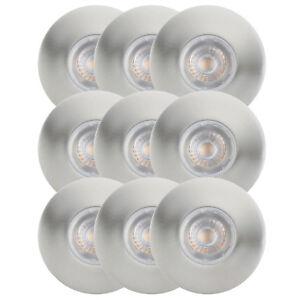 9er-Set-LED-Einbaustrahler-4-4W-Einbauleuchte-Feuchtraum-IP65-Warmweiss-Nickel