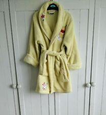 Girls Lemon Yellow Disney Winnie the Pooh Dressing Gown Robe Size 3-4 years 9c1361fdb0b2