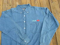 Padi Sportwear 100% Cotton Denim Shirt M, Or L Great Gift