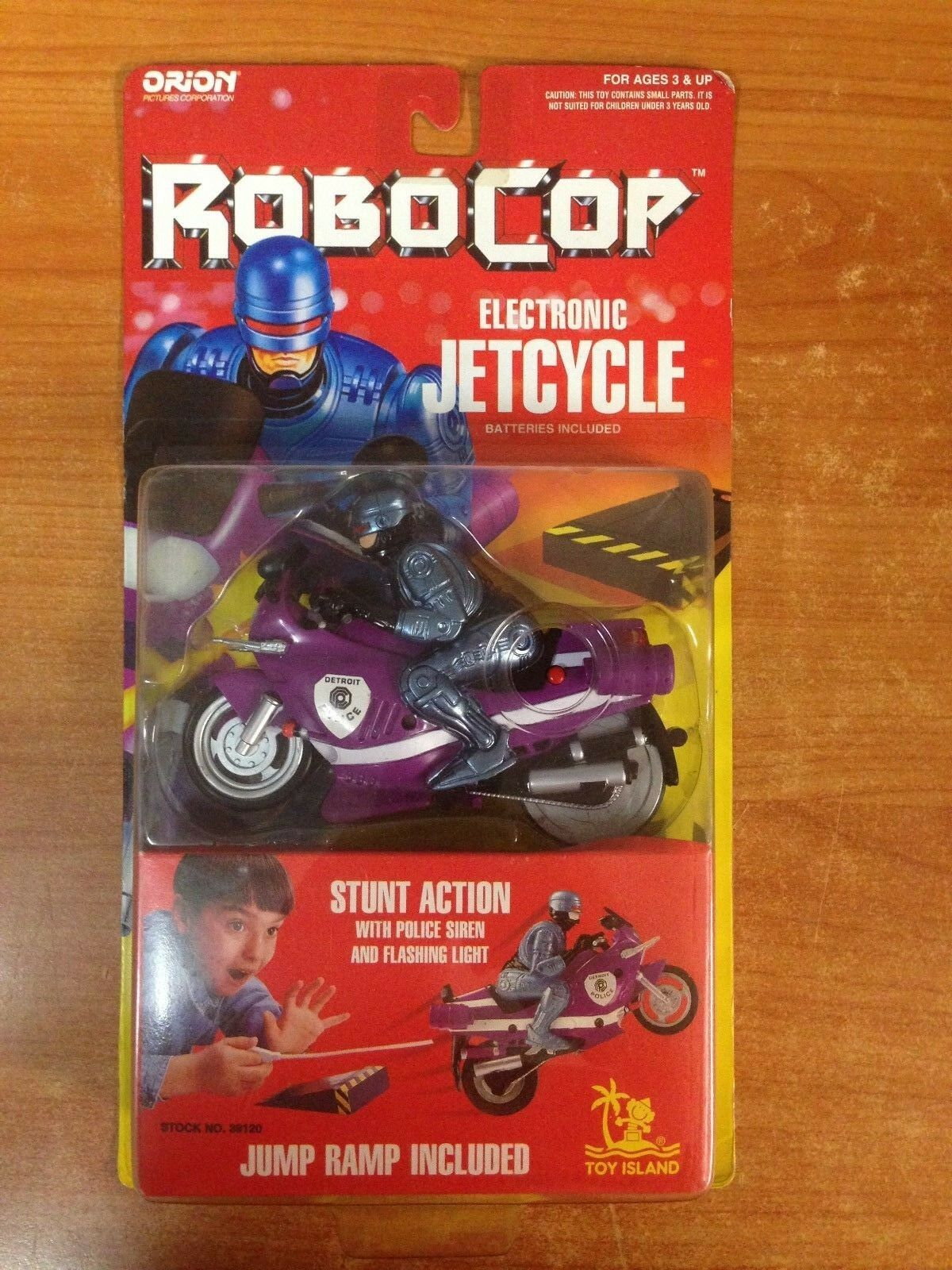 Vintage 1994 Robocop Electronic Jet Cycle Action Figure MOSC