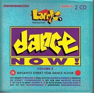 Dance-Now-2-1991-Larry-praesentiert-Homeless-Sydney-Youngblood-M-C-2-CD