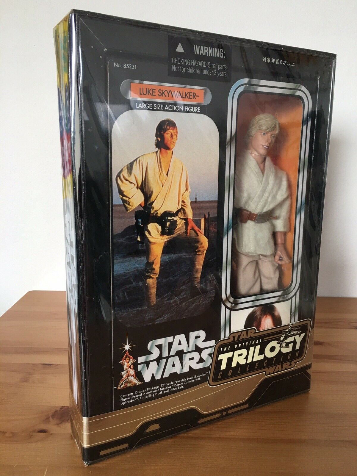 Star Wars Trilogy Collection Luke Skywalker 12  2004 Hasbro Never Opened As New
