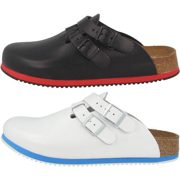 Pantofole da uomo Birkenstock Kay SL pelle naturale ZOCCOLI MOLLI zavorra Sandali Scarpe Sandali