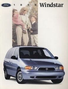 1998 Nissan Quest Van Sales Brochure Book Catalog