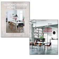 Interior Design Collection Scandinavian Home, Urban Pioneer 2 Books Set NEW HB