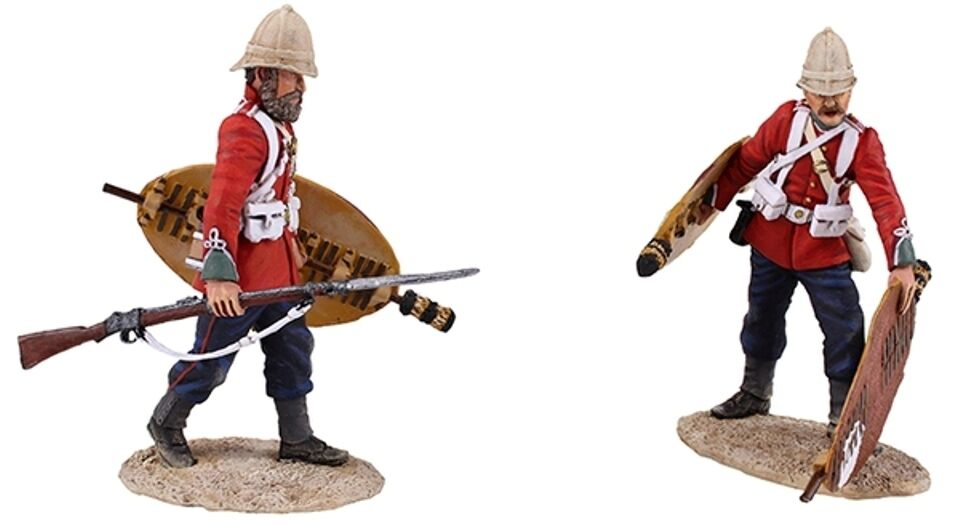 Britains Anglo Zulu Krieg 20167 Clearing the Yard  3 MIB
