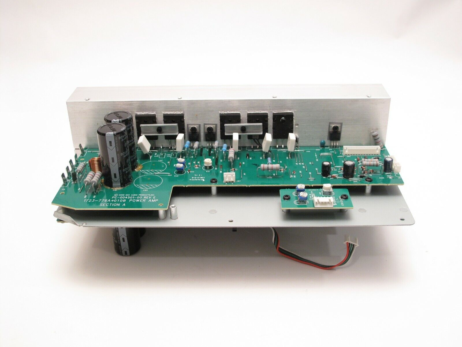 QSC ISA 300Ti AMPLIFIER PARTS- power amplifier assembly complete  1723-776A+010B