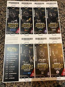 Iowa Hawkeyes 2012 NCAA football ticket stubs One ticket
