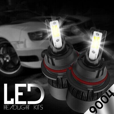 9004 HB1 LED Headlights Kit for Dodge RAM 1500 2500 3500 1994-2001 High Low Beam