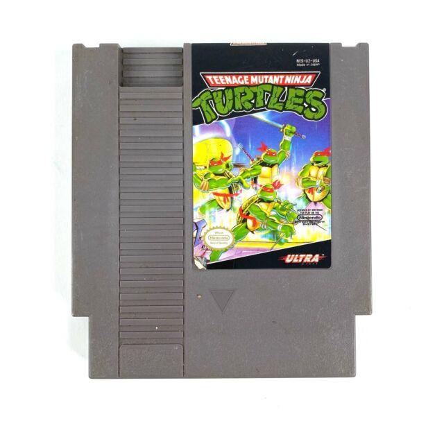 Teenage Mutant Ninja Turtles 1 TMNT Nintendo NES 1989 Authentic Cartridge Tested