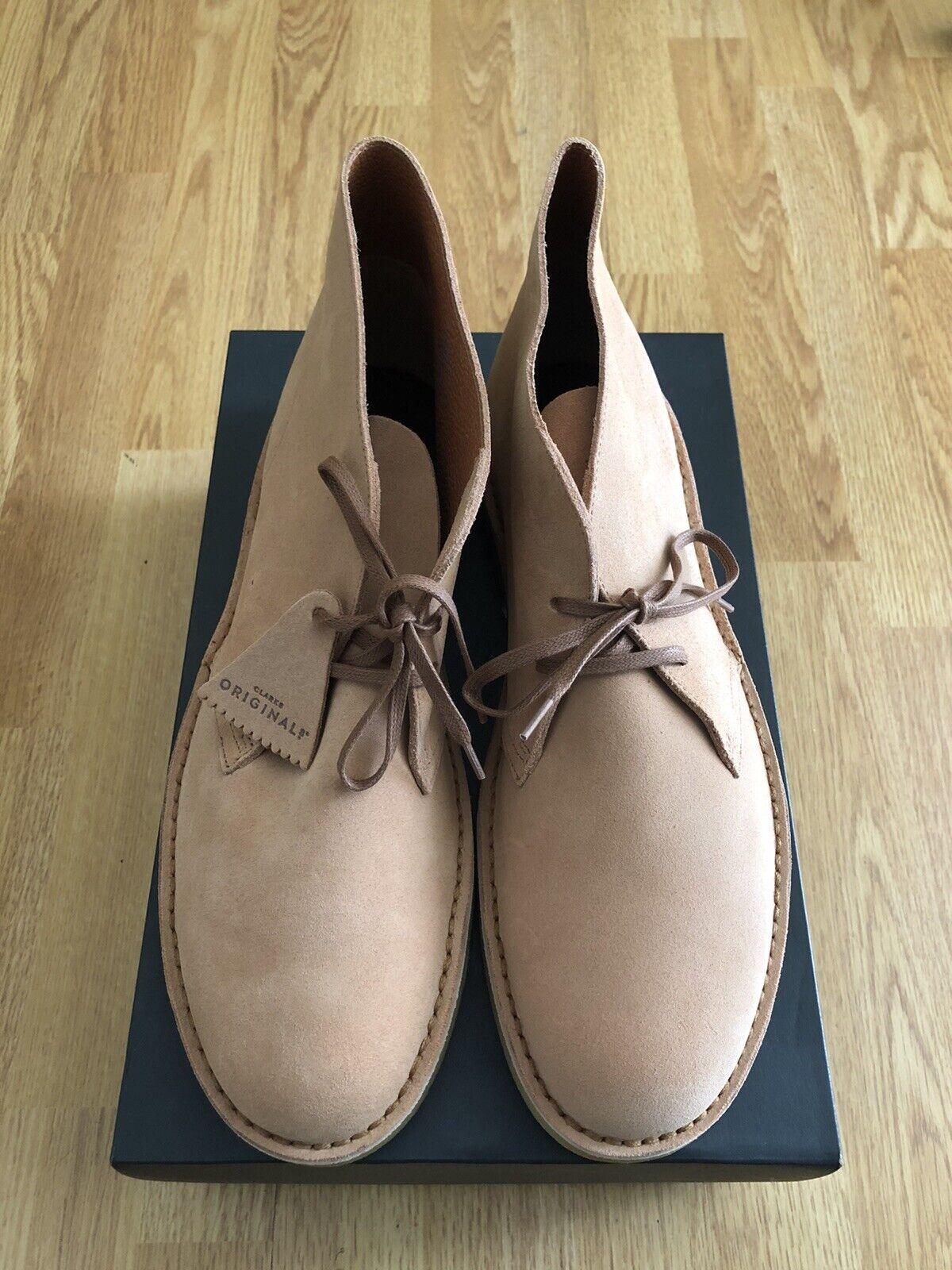 Clarks ORIGINALS Mens Desert Boot Fudge Suede / Size 12 UK RRP