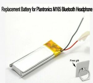 496baa682cc Image is loading 3-7V-80mAh-Replacement-Battery-for-Plantronics-M165-
