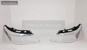 e-60-61-5-series-2003-2007-headlight-lens-headlamp-glass-cover-clear-new-set-M5