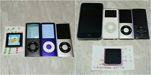 Lot 9 Apple iPods 1st 4th 5th 6th Gen Nano 2nd Touch Parts Repair Broken Battery