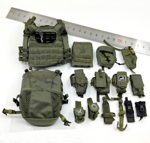 1//6 Scale Soldier Israel Wild Boy Special Force Weapon Combat Vest Packages
