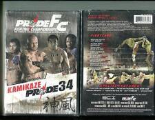 PRIDE FC - KAMIKAZE 34 (DVD, 2008) BRAND NEW SEALED - FREE SHIPPING