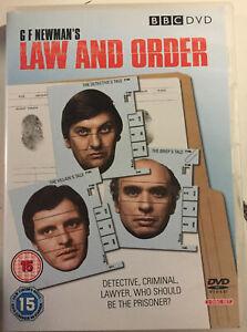 DVD-G-F-Newman-039-s-classic-TV-drama-Law-amp-Order-BBC-ABC-2-disc-set-PAL-R4
