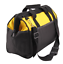thumbnail 4 - 16 Inch Tool Bag Hard Bottom, Shoulder Strap, Heavy Duty Tool Case, Carry Handle
