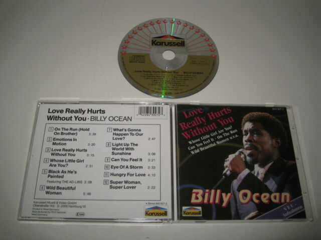 BILLY OCEAN / Love Realmente LASTIMA Without You (Karussell 843 927) Cd Álbum