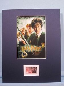 """Daniel Radcliffe - """"Harry Potter and the Chamber of Secrets"""" & its own stamp"""