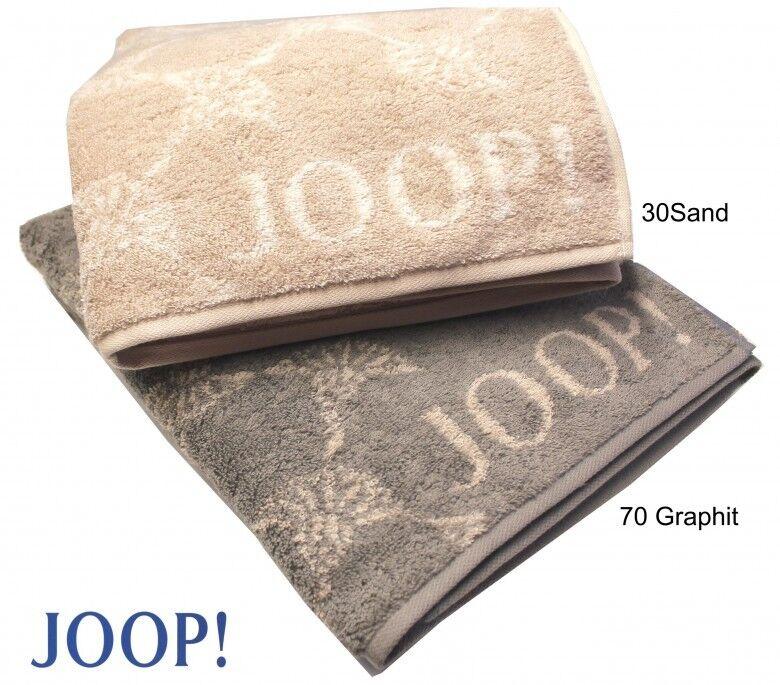 Joop  1611 FIORDALISO asciugamani asciugamani asciugamani bagno TELI SAUNA per Ospiti SABBIA Grafite 977710