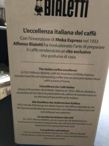 Bialetti Venus 6 Espresso Réchaud Cafétéria Café gaz electrique induction