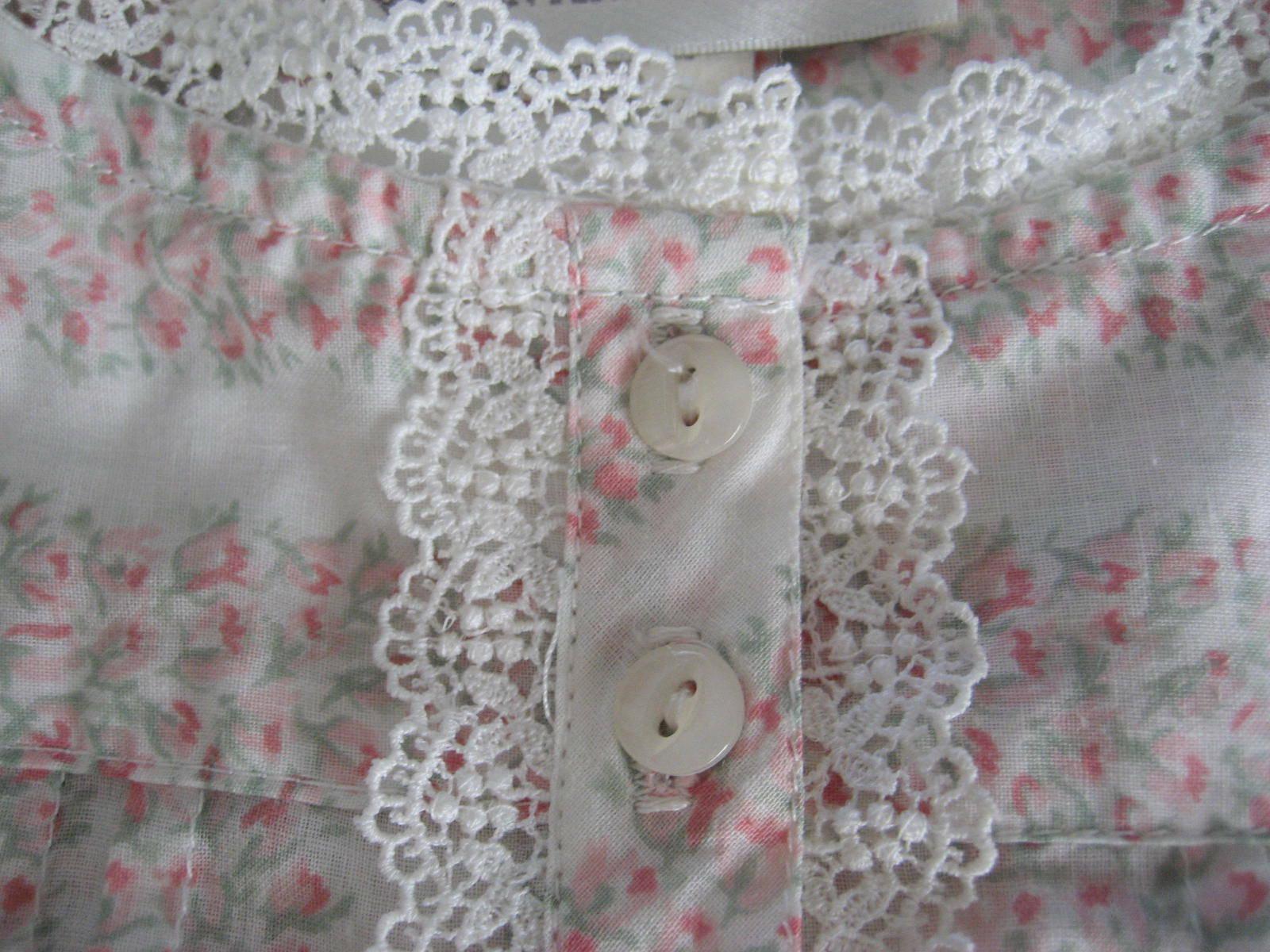1990s Unworn Eileen West Queen Anne's Lace Nightg… - image 8