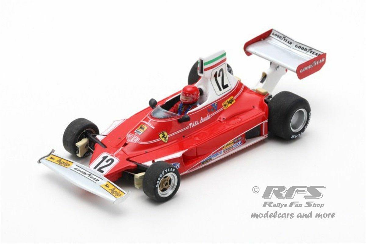 FERRARI 312 T NIKI LAUDA FORMULE 1 Italie  World Champion 1975 1 43 Lookintelligent rc61  plus abordable