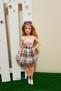 New Curvy sleeveless shirt and skirt for Your Curvy Barbie Doll Au Made