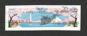 UNITED-STATES-2012-CHEERY-BLOSSOM-CENTENNIAL-STRIP-OF-2-STAMPS-SC-4651-4652-USED
