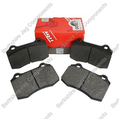 FRONT AND REAR BRAKE DISC PADS FITS JAGUAR S TYPE 2.5 2.7 3.0 SPORT 2002-2005