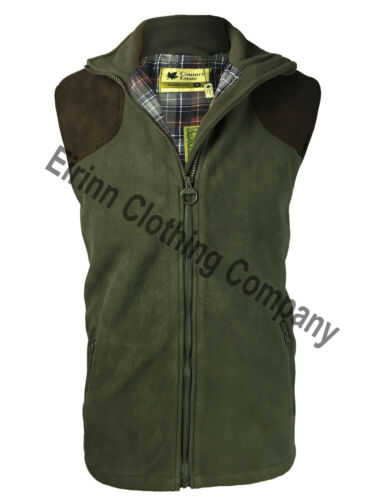 Mens Southwick Country Estate Windproof Hunting Shooting Fleece Bodywarmer