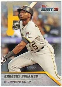 2016-Topps-Bunt-Baseball-Physical-Platino-99-70-Gregory-Polanco-Pirates