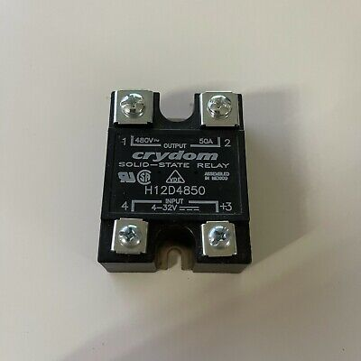 CRYDOM H12D4850 SOLID STATE RELAY NEW