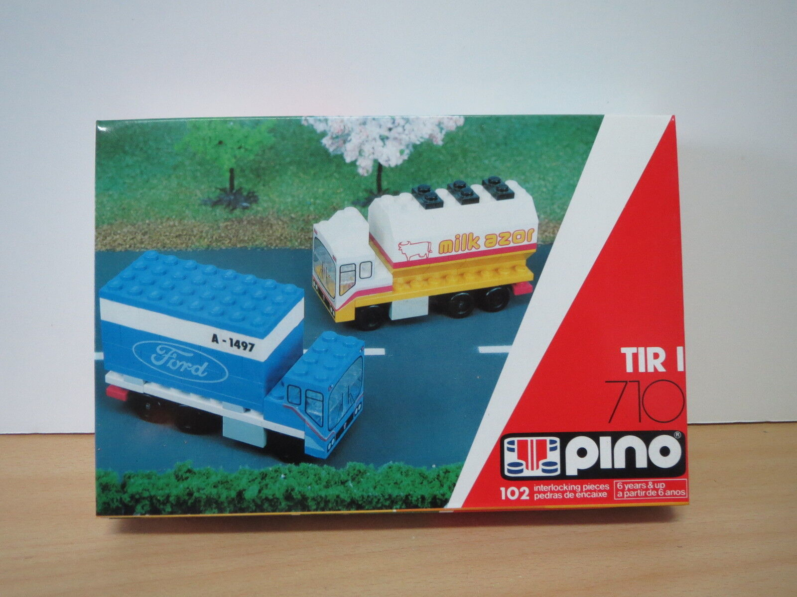 Vintage Portuguese LEGO PINO - TIR I 710 - FORD - Made in Azores (Portugal)